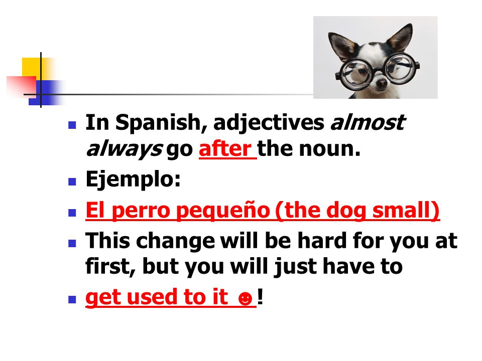Gramtica Noun Adjective Agreement In Spanish Ppt Video Online