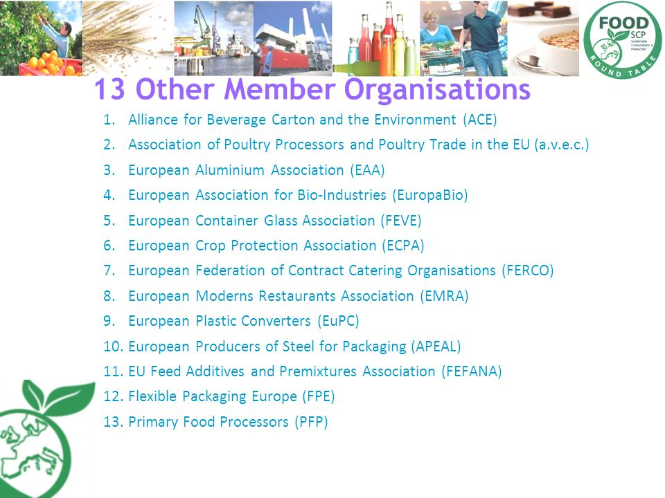 13 Other Member Organisations