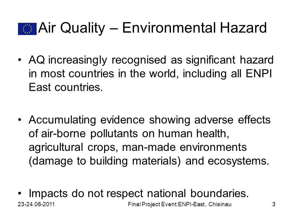 Air Quality – Environmental Hazard