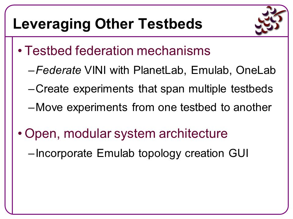 Leveraging Other Testbeds