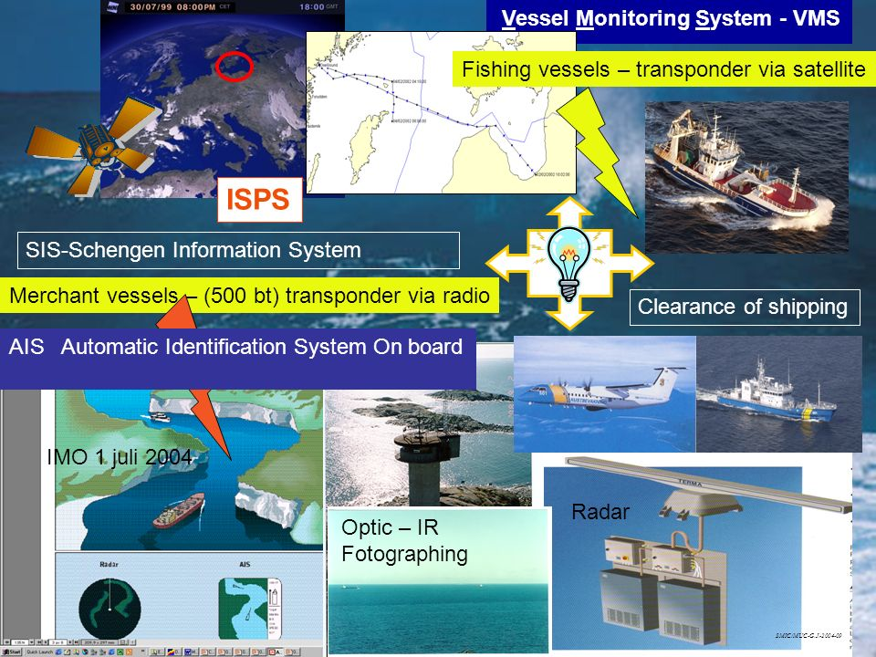ISPS Vessel Monitoring System - VMS