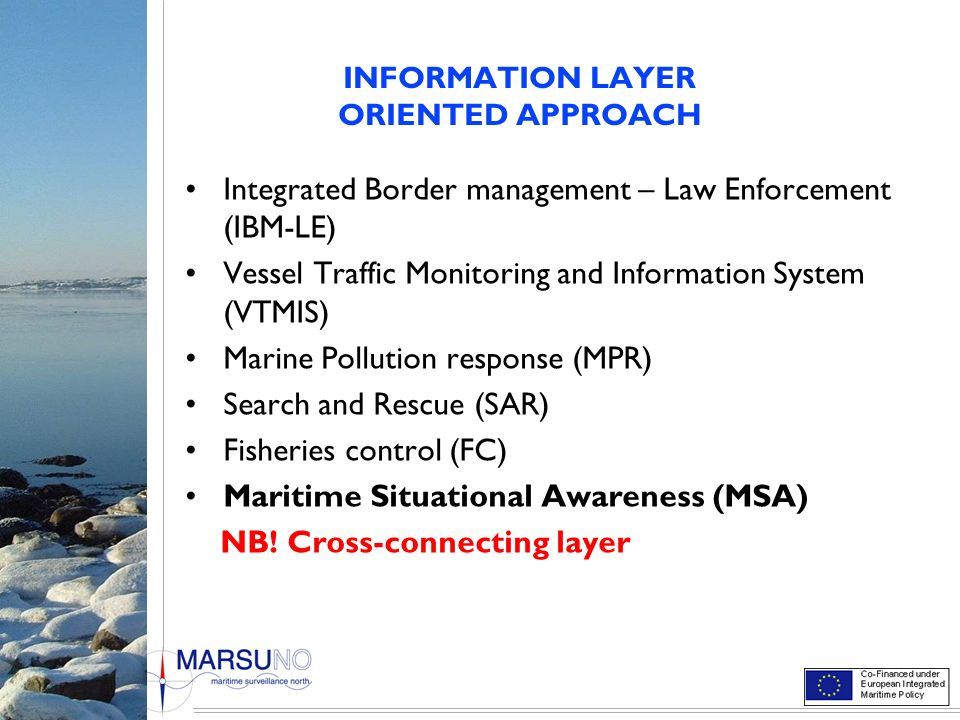 INFORMATION LAYER ORIENTED APPROACH