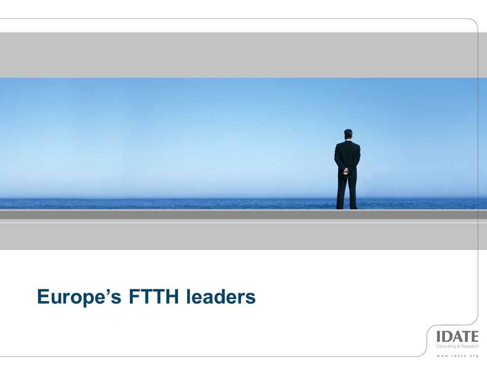 Europe's FTTH leaders