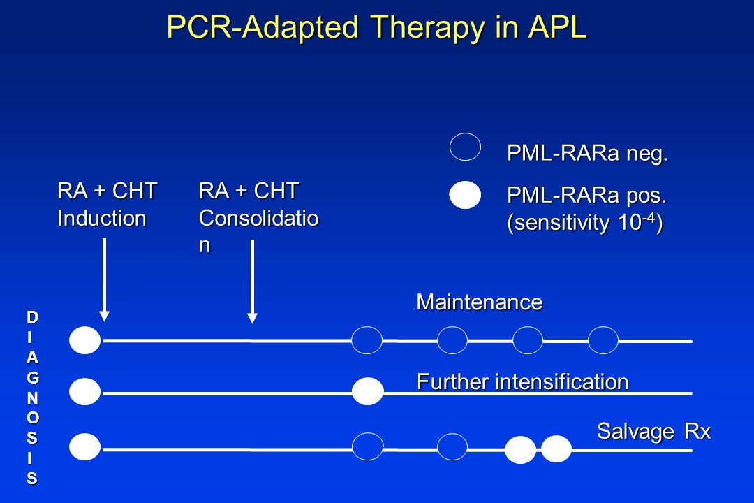 PCR-Adapted Therapy in APL