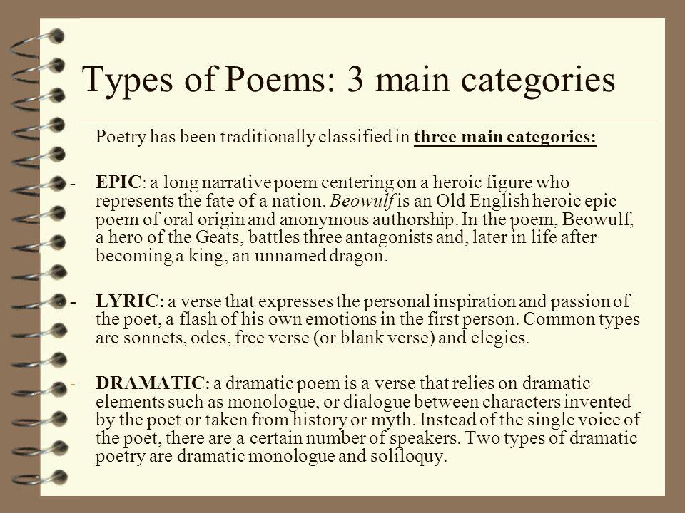 origin of poetry