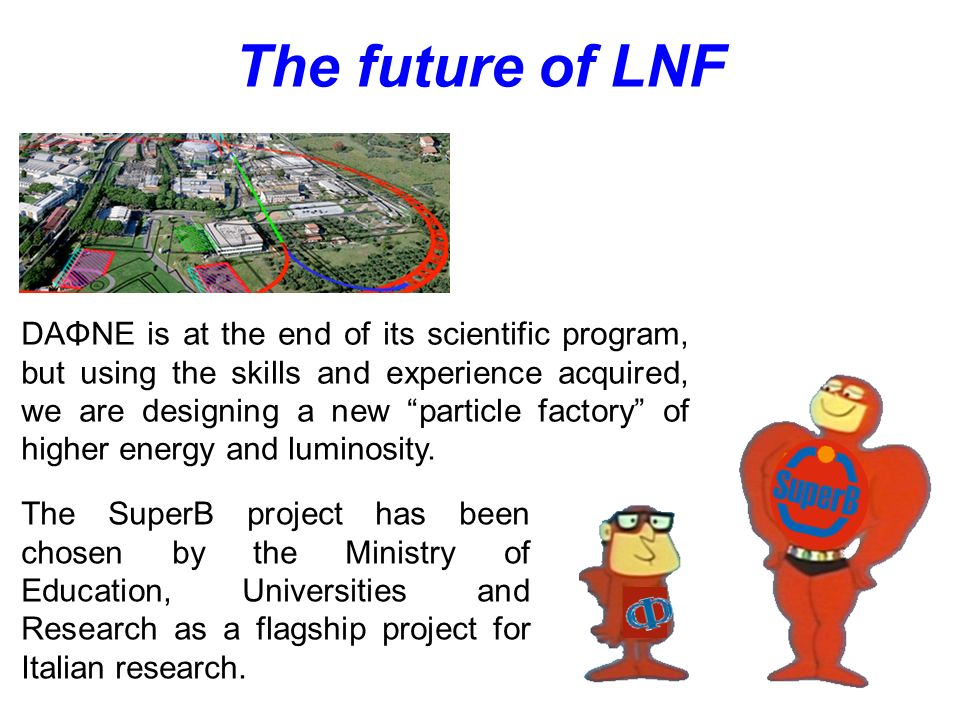 The future of LNF