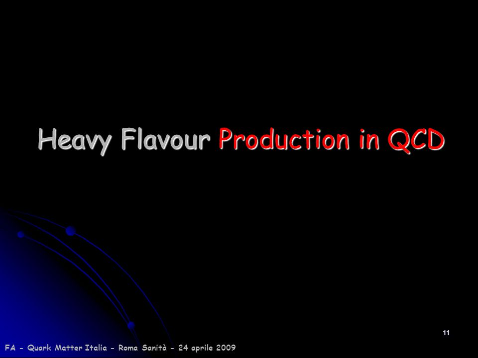 Heavy Flavour Production in QCD