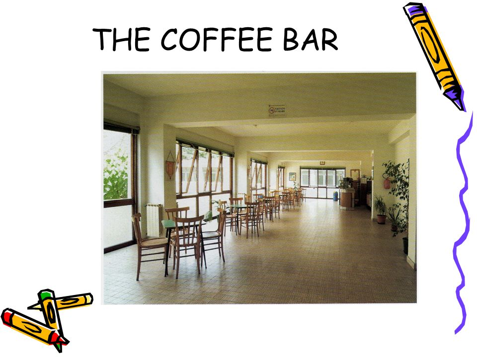 THE COFFEE BAR