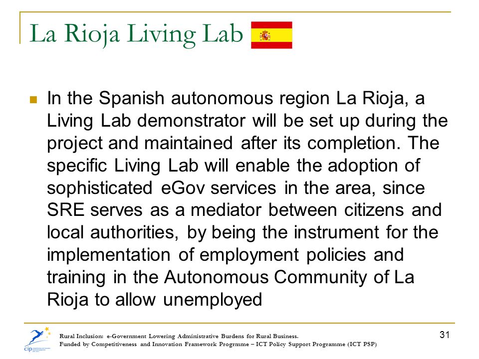 La Rioja Living Lab