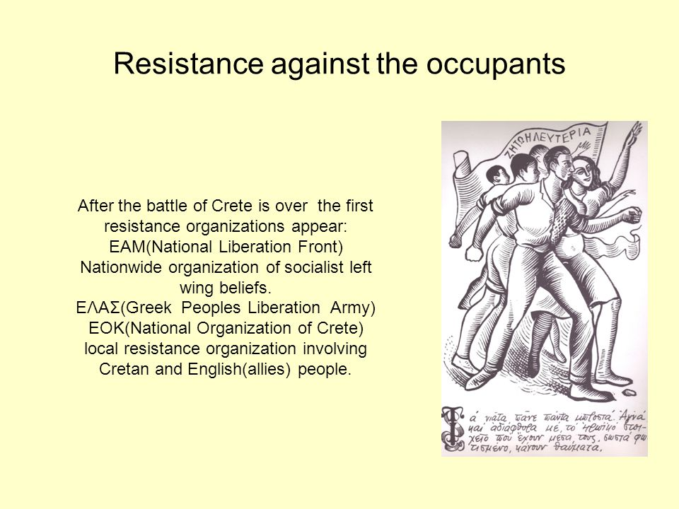 Resistance against the occupants