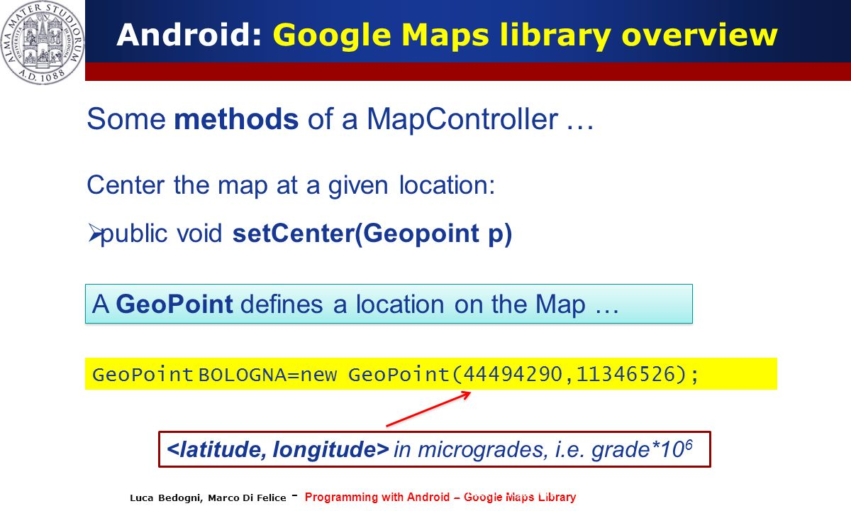 Android: Google Maps library overview