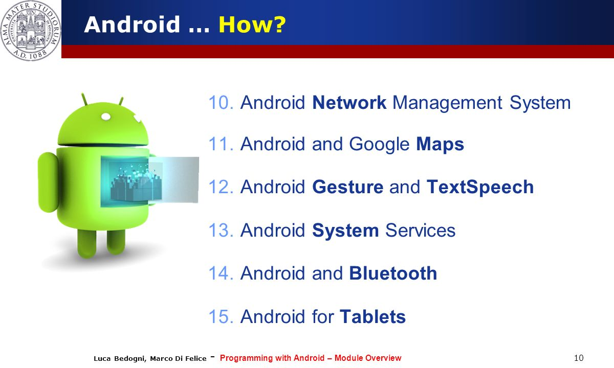 Android … How Android Network Management System