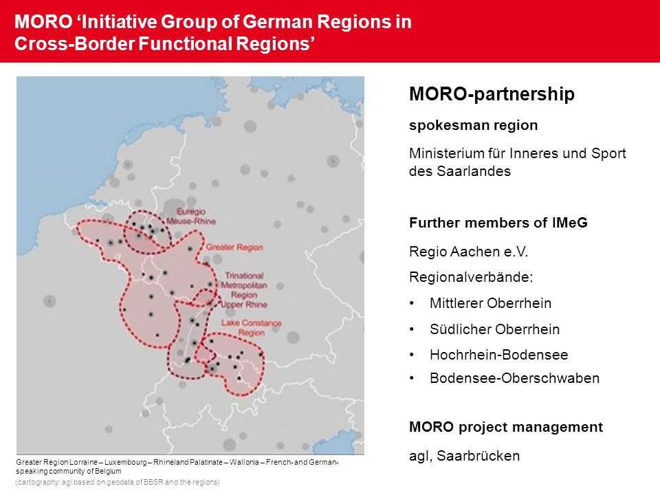 MORO 'Initiative Group of German Regions in Cross-Border Functional Regions'