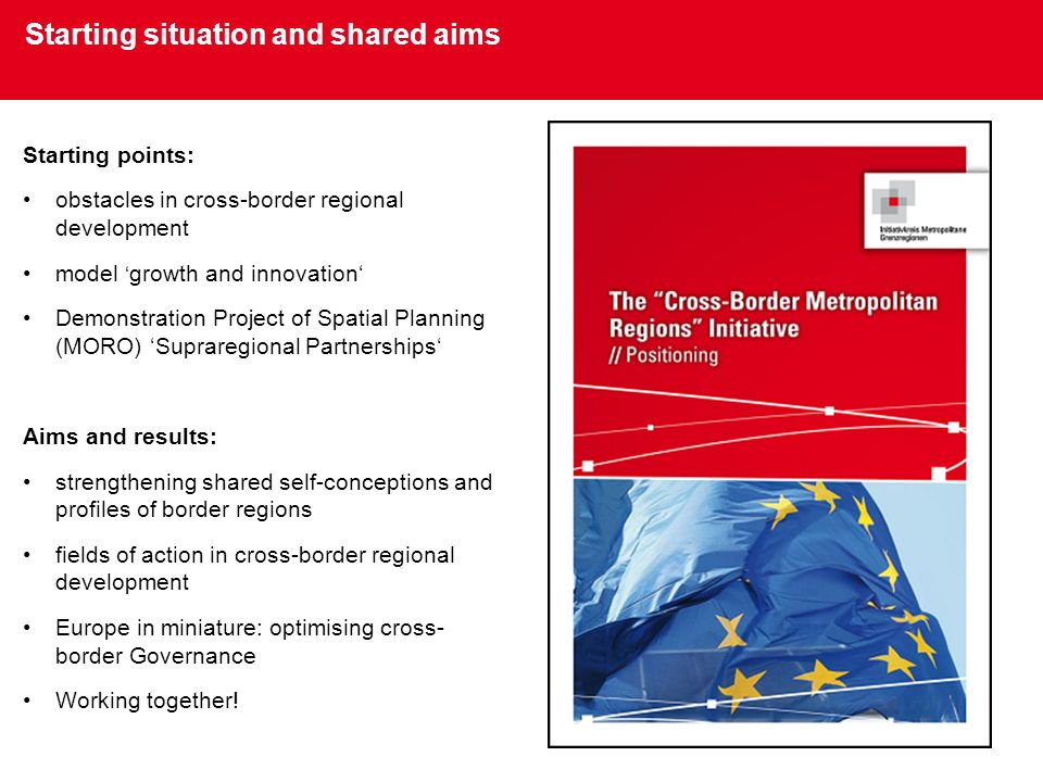 Starting situation and shared aims