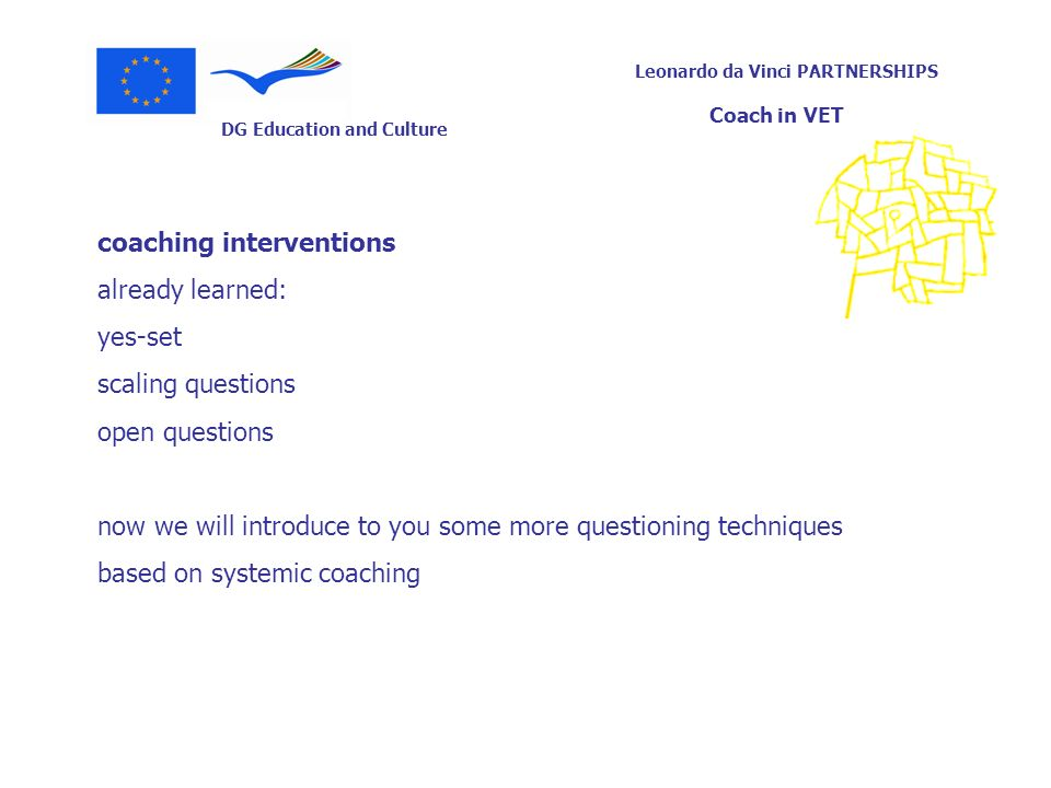 coaching interventions