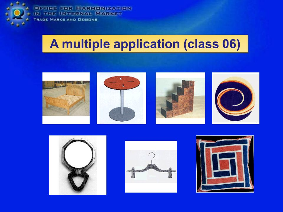 A multiple application (class 06)