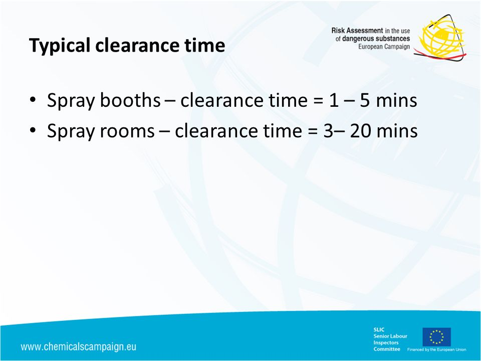 Typical clearance time