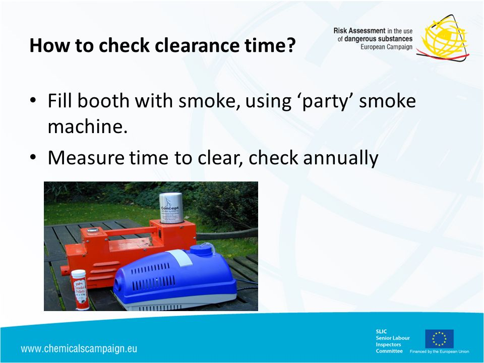 How to check clearance time