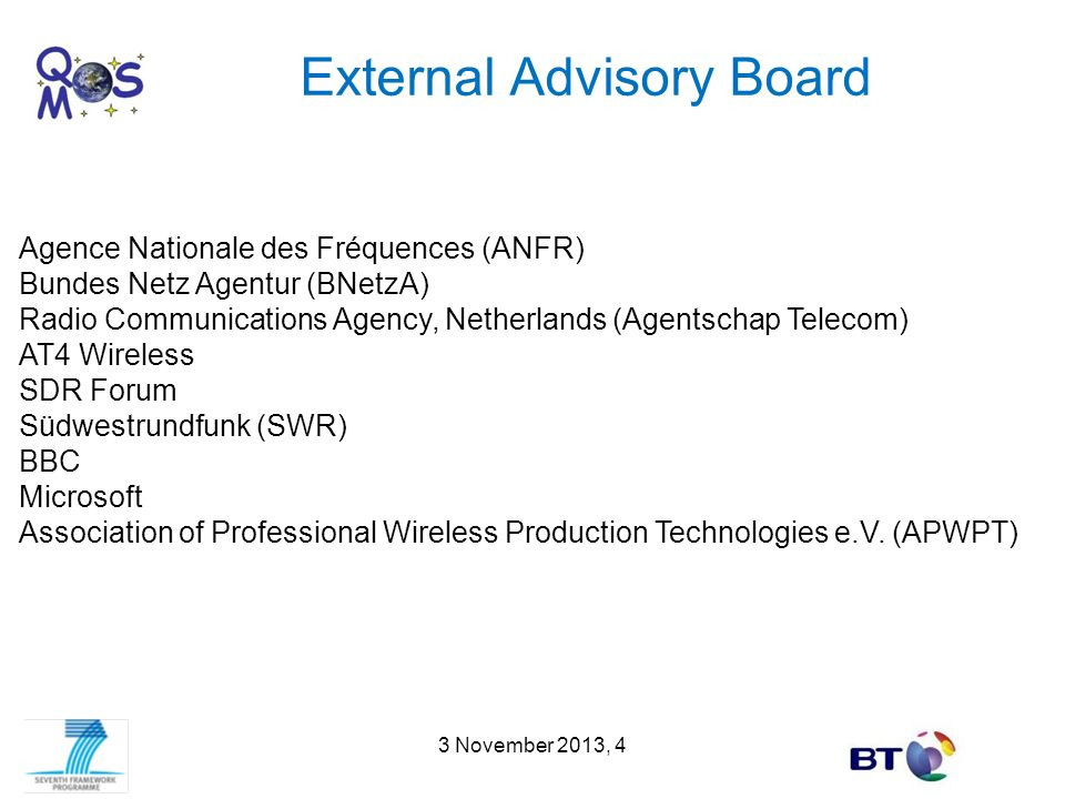 External Advisory Board