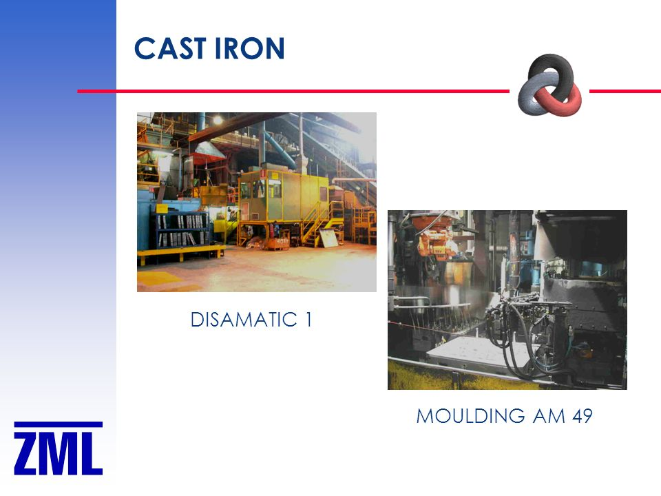 CAST IRON DISAMATIC 1 MOULDING AM 49