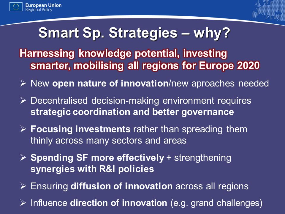 Smart Sp. Strategies – why