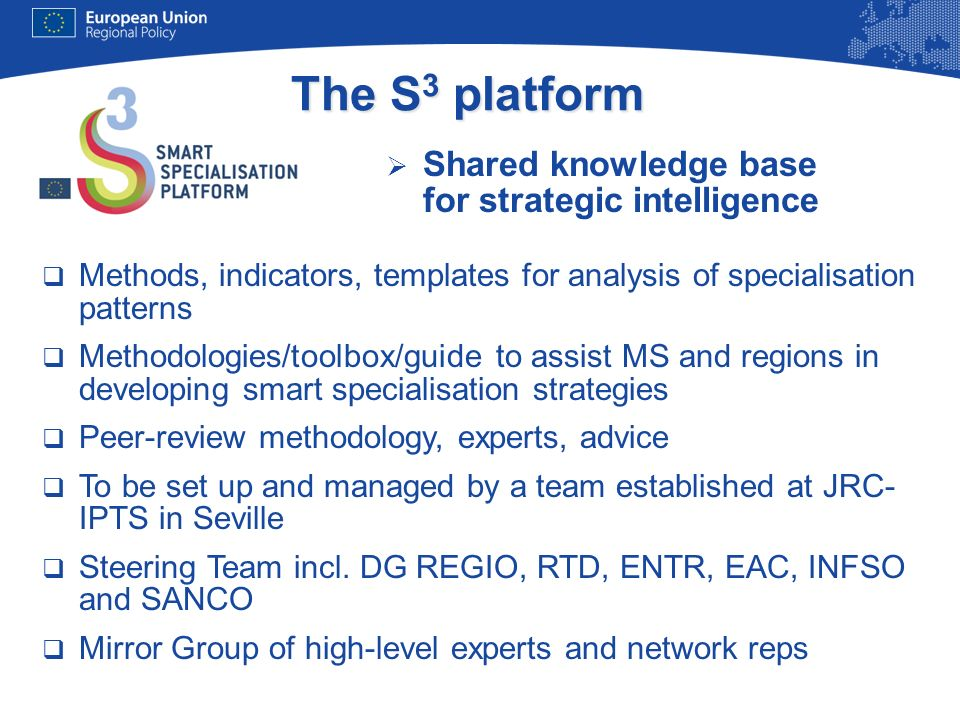 The S3 platform Shared knowledge base for strategic intelligence