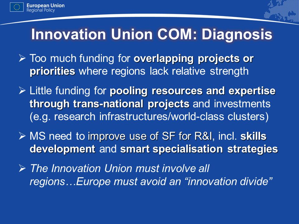 Innovation Union COM: Diagnosis