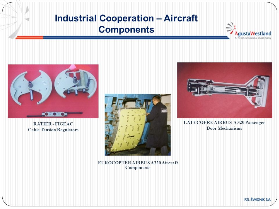 Industrial Cooperation – Aircraft Components