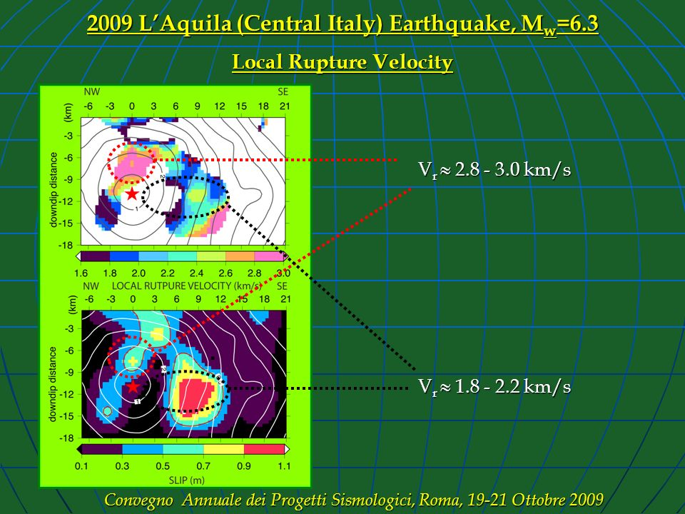 2009 L'Aquila (Central Italy) Earthquake, Mw=6.3