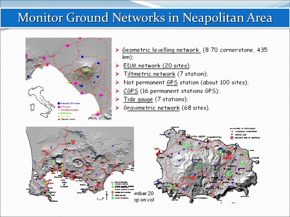Monitor Ground Networks in Neapolitan Area