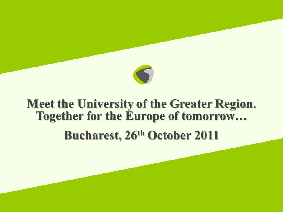 Meet the University of the Greater Region