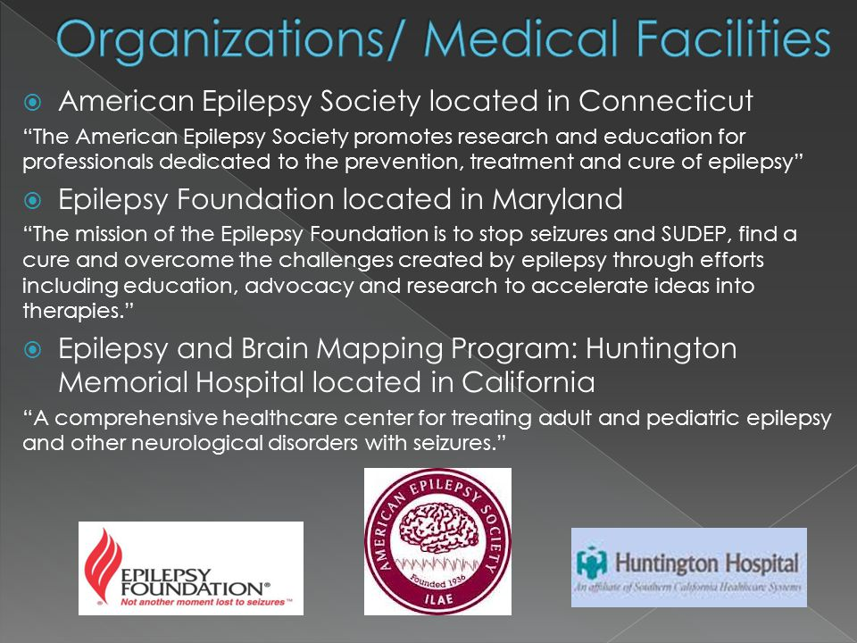 Organizations/ Medical Facilities