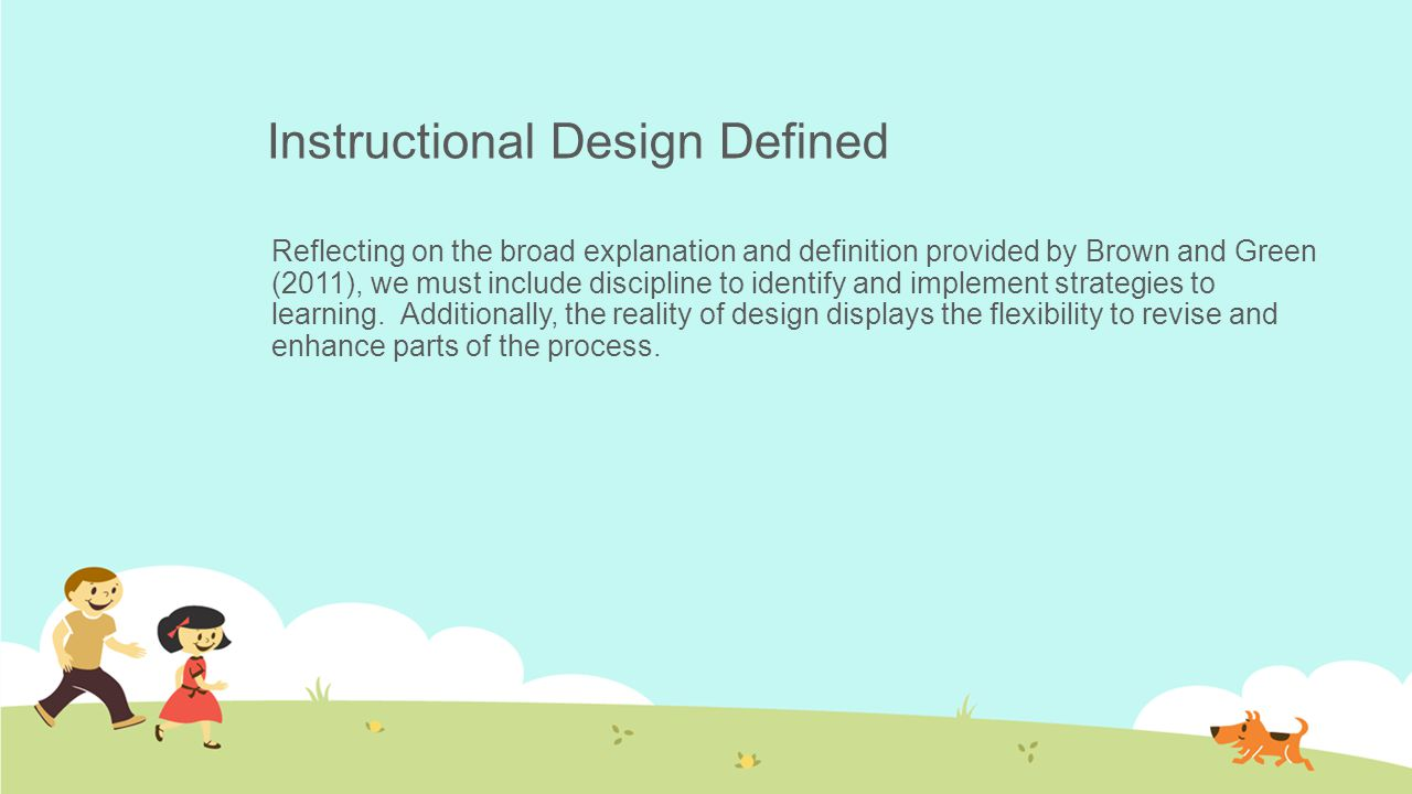 An Instructional Design Process Ppt Download
