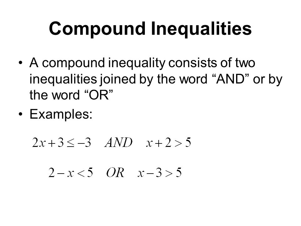 Exam 3 material inequalities and absolute value ppt video online.