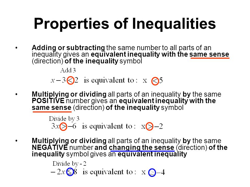 Exam 3 Material Inequalities And Absolute Value Ppt Video Online