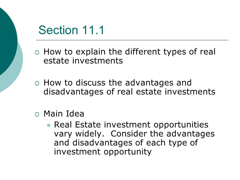 Different types of investment opportunities fair investment company charities for kids