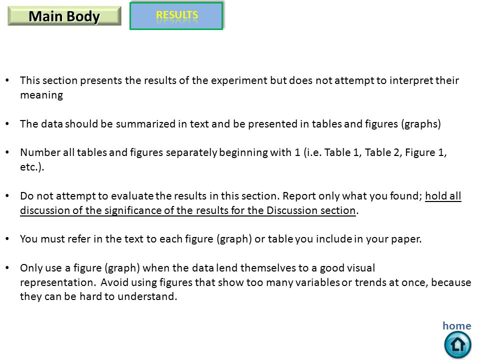 Writing A Scientific Paper In Apa Style Ppt Download