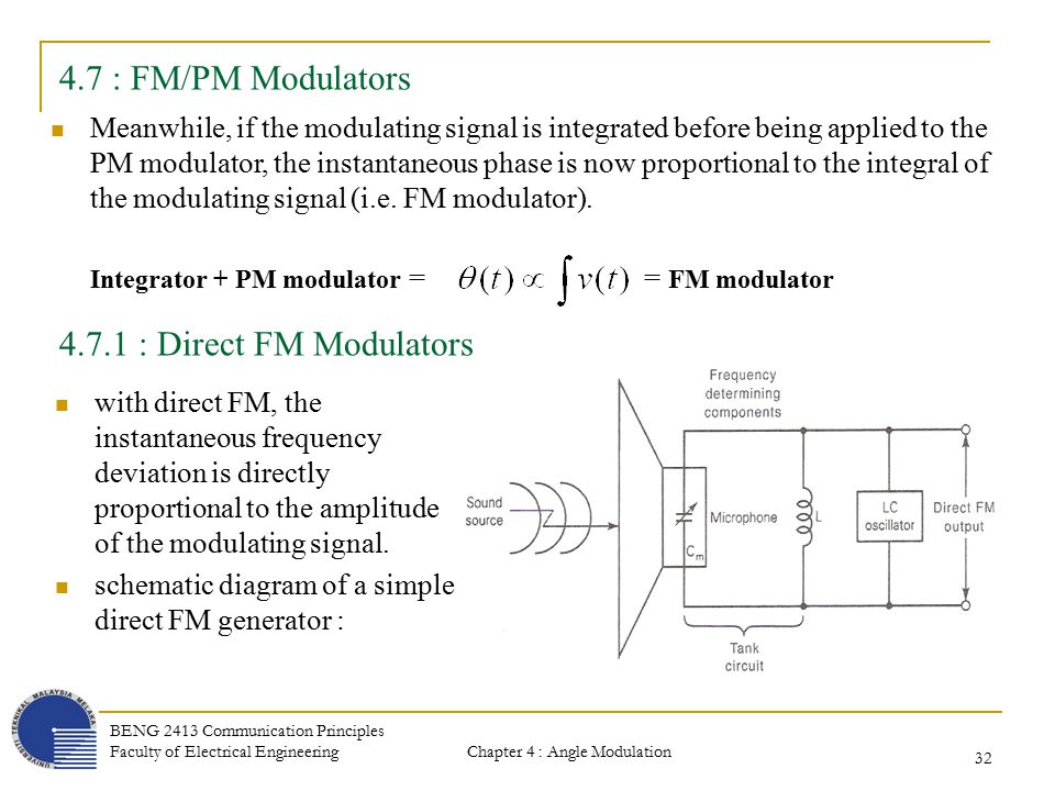 Chapter 4 angle modulation transmission and reception ppt download 32 47 publicscrutiny Gallery