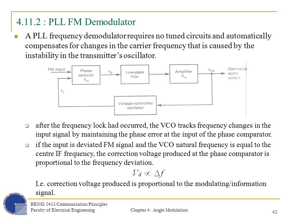 Chapter 4 angle modulation transmission and reception ppt download 62 pll publicscrutiny Gallery