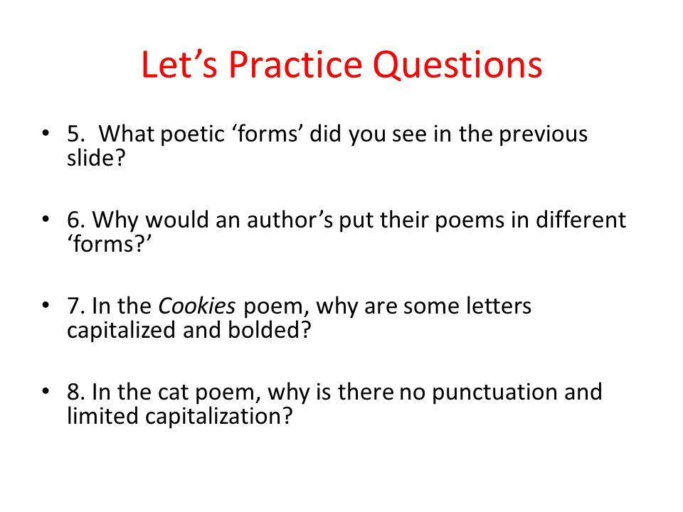 Poetry Basics Ppt Video Online Download