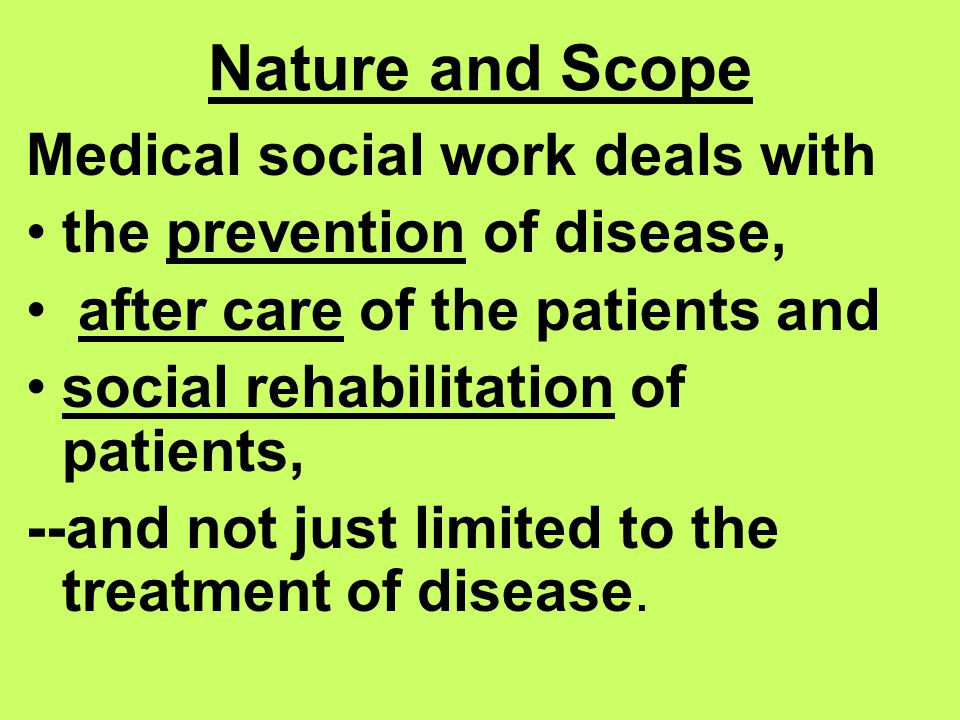 Medical Social Work And India Ppt Download