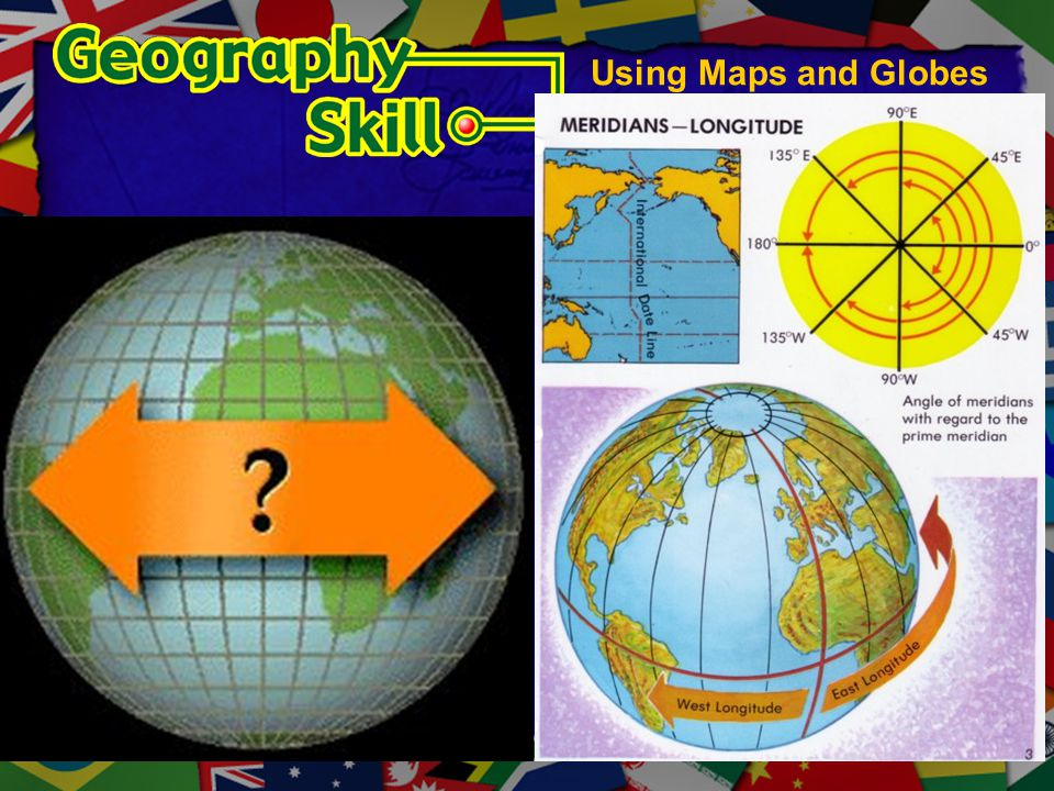 Using Maps and Globes Longitude diagrams