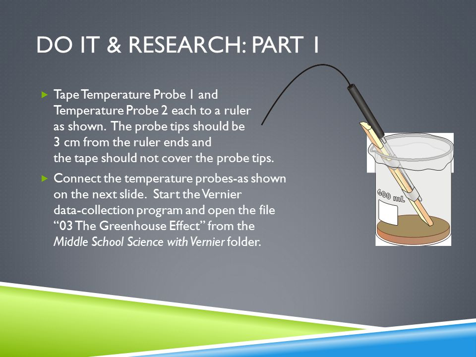 Vernier Science: The Greenhouse effect - ppt video online