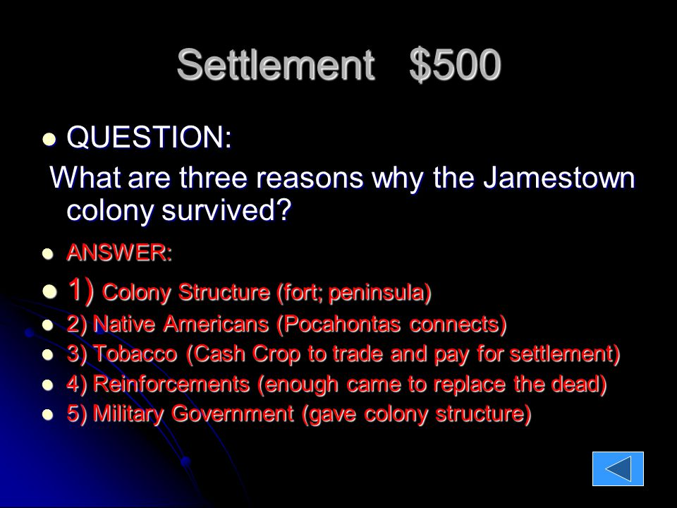 American History I Won Because Learned Ppt Video Online. Worksheet. Jamestown Worksheet Answers At Mspartners.co