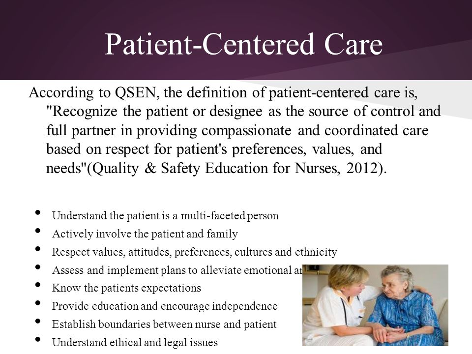 nursing education and quality patient care essay Teach-back method, quality improvement and nursing education, and dedicated education units the limitations imposed on all searched articles included: full-text articles, published within the last ten years, written in the english language, and studies conducted in the united states.