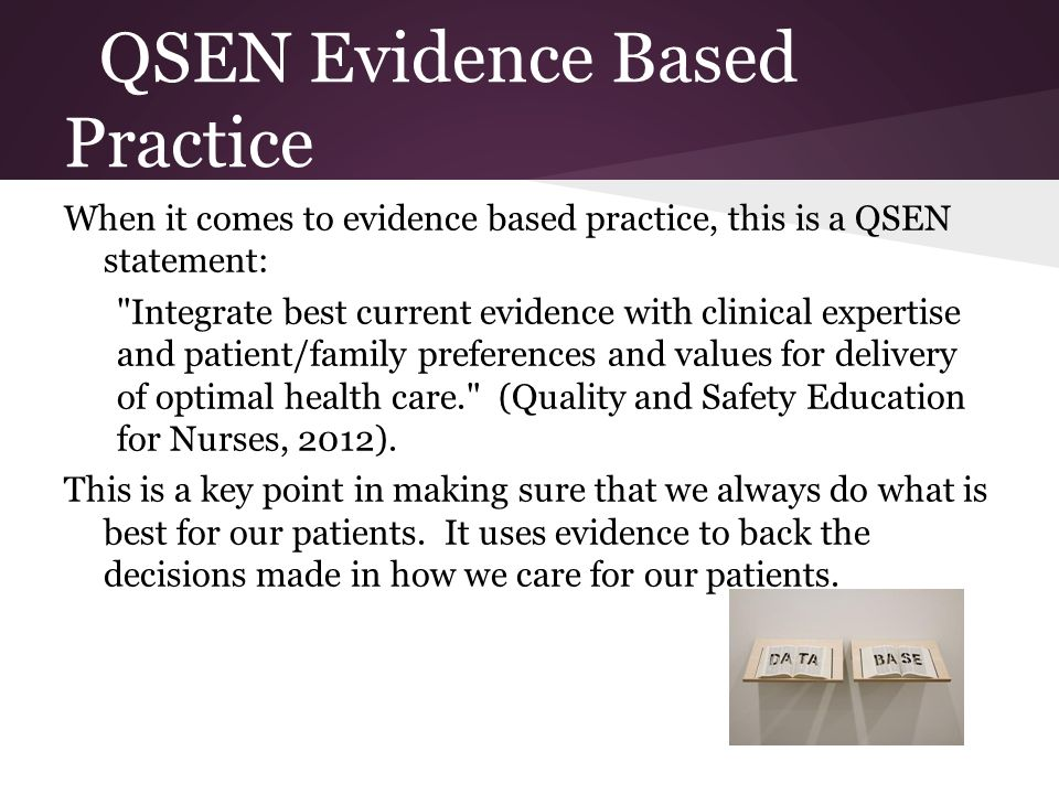 Evidence Based Practice Nursing Examples Image Collections Example