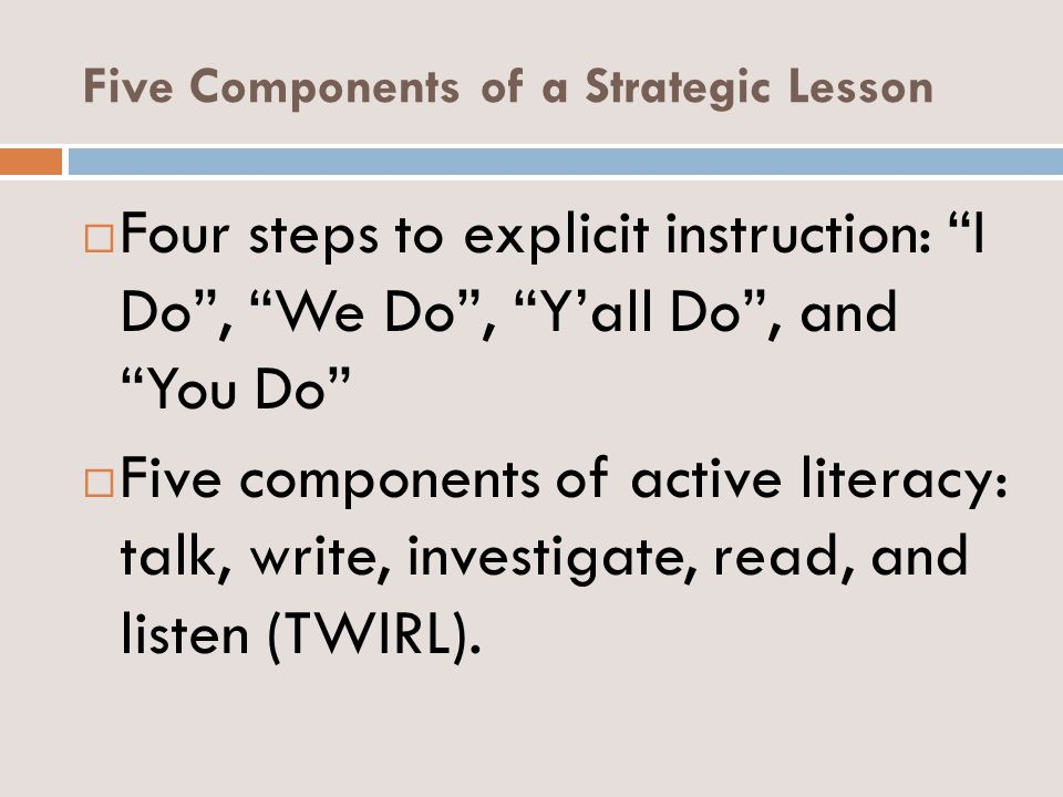 An Introduction To Strategic Planning And Teaching Ppt Download