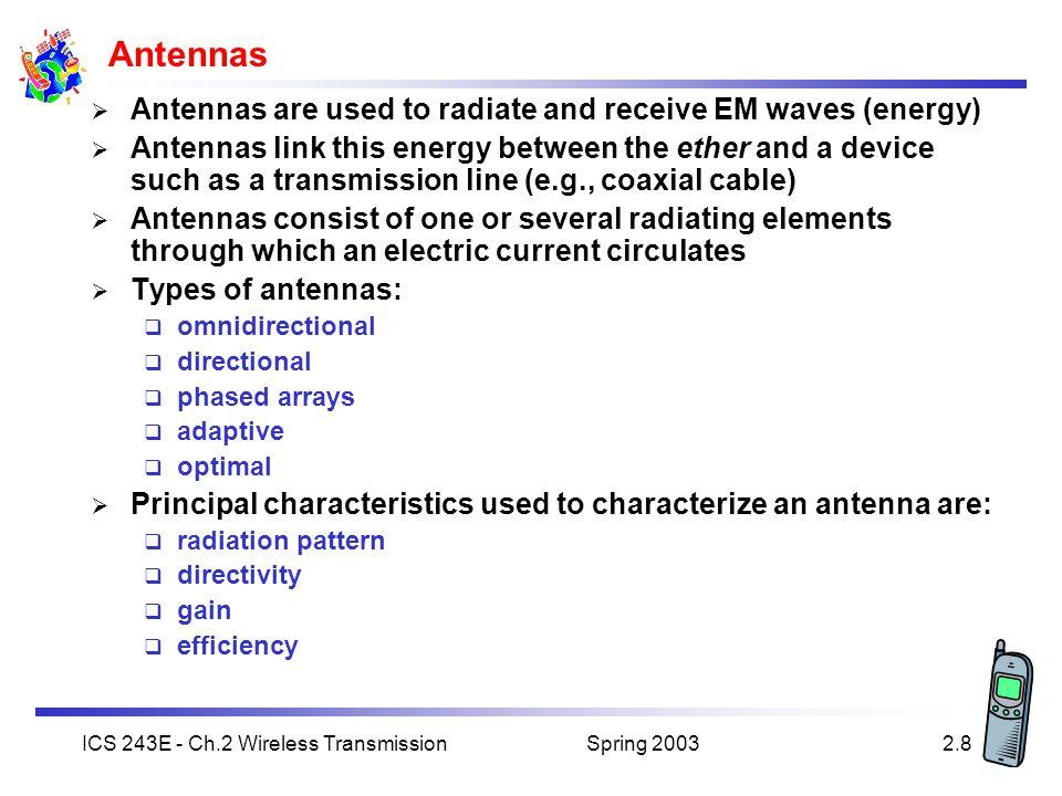 Wireless & Mobile Communications Chapter 2: Wireless