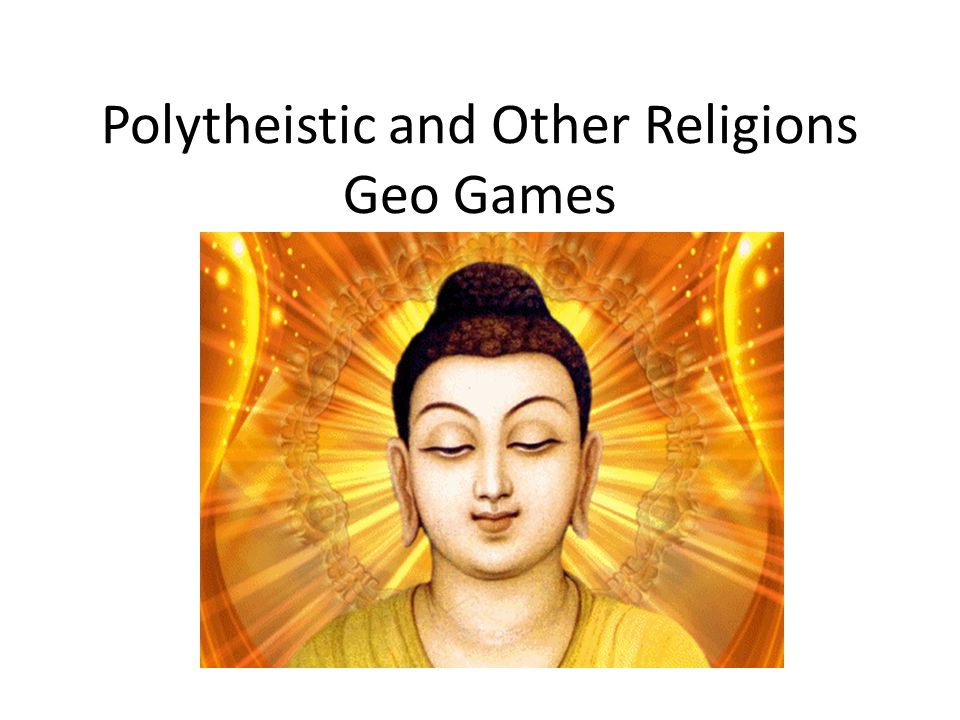Polytheistic and Other Religions Geo Games