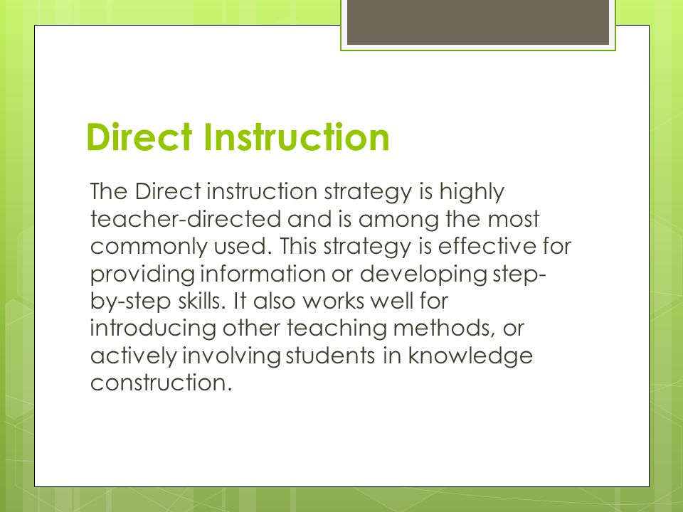 Developing Instructional Strategies Ppt Video Online Download